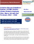 Solution Styrene Butadiene Rubber (S-SBR) Market - Global Industry Analysis, Size, Share, Growth And Forecast, 2012 -   2018