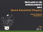 Some essential moodle 2 plugins   p...
