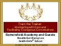 Somersfield Academy Train the Trainer
