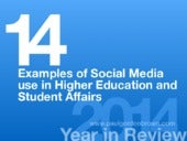 Social Media Use in Higher Education & Student Affairs