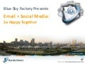 So metourism presentation  email & social