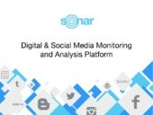 Find Out How Your Brand's Doing in Social Media With SONAR