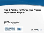 Tips and Pointers for Conducting Process Improvement Projects in HR