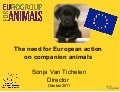 ICAWC 2011: Sonja Van Tichelen - European Protection for Animals