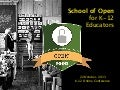 School of Open for K-12 Educators