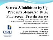 Sortase A Inhibition By Ugi Products