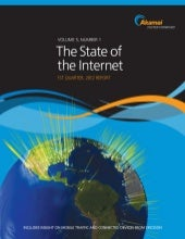 Akamai Q1 2012 State of the Interne...
