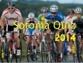 Sotonia Cycling Club Quiz 2014
