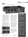 Sound Devices 633 tr