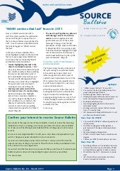 Source bulletin 63-2011