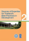Sources of expertise for thailands best practices in development
