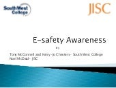 South West College e-safety awareness