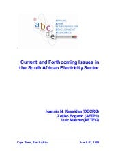 South African Electricity Sector