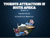 South africa's tourist attractions ...