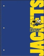 Southeast Bulloch High Spiral-bound Notebook Proof