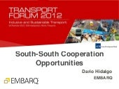 South-South Collaboration, Presenta...