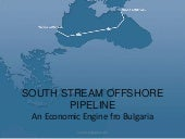 South stream offshore pipeline Boom...