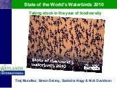 State of World's Waterbirds 2010