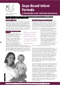 Soya Infant Formula Factsheet