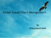 global supply chain managment