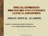 Sp.imp.procedures. /certified fixed...