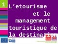 4emes Rencontres Nationales du etourisme institutionnel - Speed dating Management touristique
