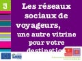 4emes Rencontres Nationales du etourisme institutionnel - Speed dating Reseaux sociaux de voyageurs