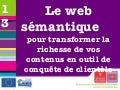 4emes Rencontres Nationales du etourisme institutionnel - Speed dating Web sémantique