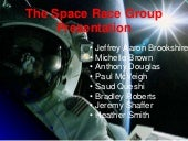 Space Race Presentation With Works ...