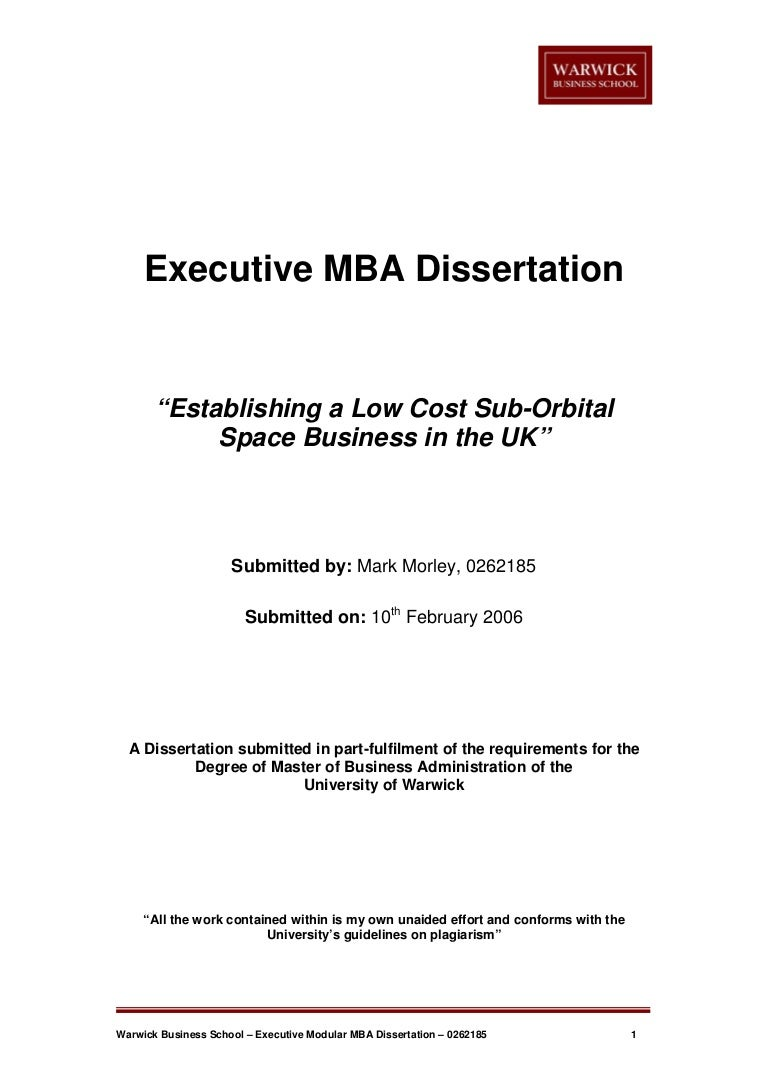 mba dissertation or thesis A thesis or dissertation is a document submitted in support of candidature for an academic degree or professional qualification presenting the author's research and findings.