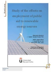 Public Aid To Renewables - Spain