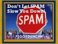 Spam End It Now Peggy Duncan Email Overload Expert