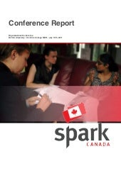 SparkCanada Founding Conference Report