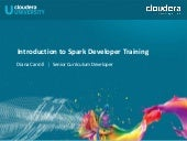 Introduction to Apache Spark Developer Training