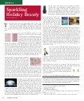 Sparkling holiday beauty affluent magazine