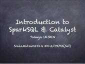 Introduction to Spark SQL & Catalyst