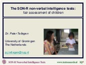 Spatial intelligence test for children