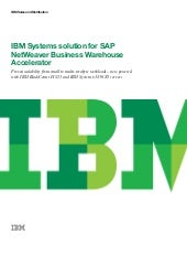 IBM Systems solution for SAP NetWea...