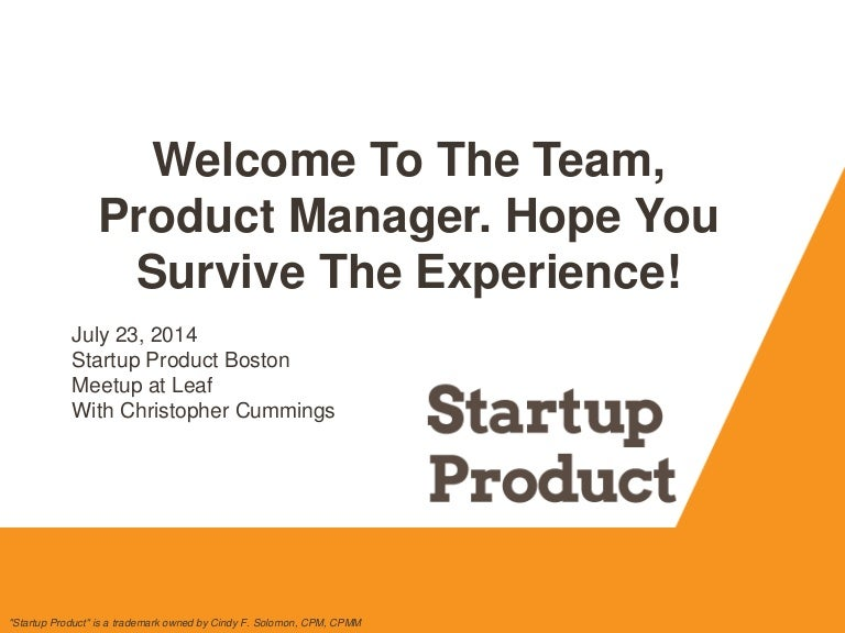 Startup Product Talks Boston July 23, 2014 #spboston #startupproduct