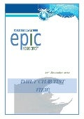 SPECIAL CHARTIST VIEW REPORT BY EPIC RESEARCH- 31 DECEMBER 2012