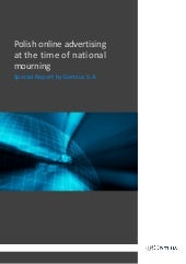 Gemius Report: Drop of online ads i...