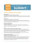 Speed Networking with Funders - Funder Giving Interests (handout 1 of 1)