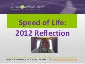 Speed of life 2012 year in review