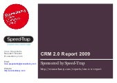 Speed-Trap CRM 2.0. Survey