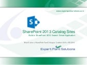 SRC 203 - Build a SharePoint 2013 Search Driven Application!
