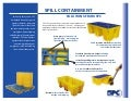 Spill containment sell sheets
