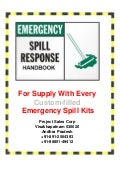 Spill Response Guide for Spill Kits