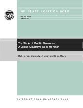 The State of Public Finances: A Cro...