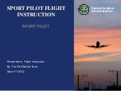 Sport Pilot Flight for Flight Instr...