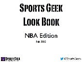 Sports Geek Look Book - NBA Edition